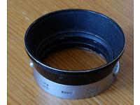 Leica 50mm lens hood IROOA