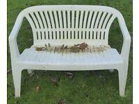 Patio / Garden bench seat