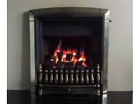 Valor Dream Fireslide 3.5 KW Inset Gas Fire ( Pale Gold )