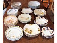 Vintage Dessert Pudding Sweet Bowls - 52 - Weddings - Tea Parties - Tea Rooms