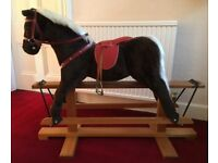 Vintage Rocking Horse (1970s) by Pegasus of Crewe, England. Great condition.