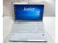 Sony Fast HD Laptop, 500GB, 4GB Ram, Windows 10, HDMI, Microsoft office, Excellent Condition, Boxed