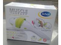 A scholl muscle massager