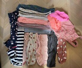 Bundles of long sleeves , pants , hats £5 (3-4 years)