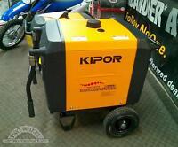 New 2014 KIPOR IG6000H 6000 WATT Digital Inverter Generator