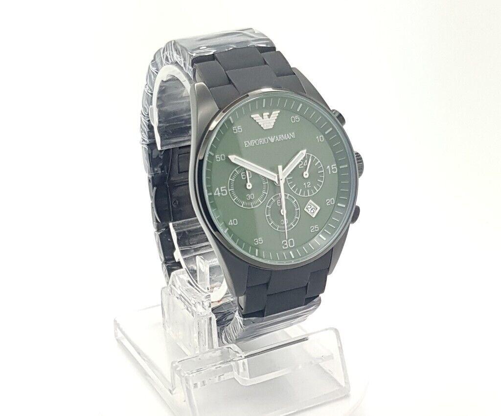 f07df1eb 100% ORIGINAL!!! New Emporio Armani Mens Green Chronograph Watch AR5922 |  in Sandwell, West Midlands | Gumtree