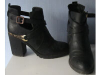 Ladies shoes and boots, mostly hardly worn, size 7 and 8