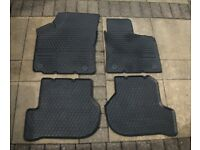 Genuine VW Scirocco Rubber Floor Mat Set, Front & Rear, excellent condition