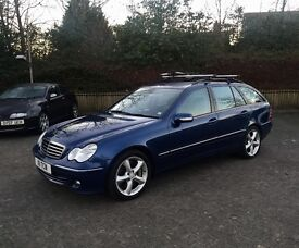 2005 55 Mercedes-Benz C320 CDI C Class Estate - V6 Turbo Diesel 7 Speed Auto - High Spec - New MOT