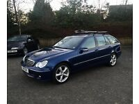 2005 55 Mercedes-Benz C320 CDI C Class Estate - V6 Turbo Diesel 7 Speed Auto - High Spec - New MOT