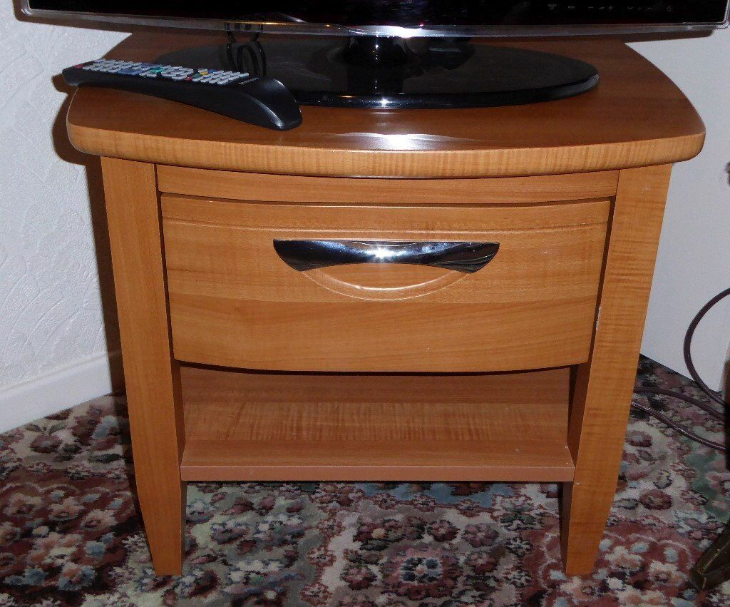 Small Table with Drawer and Shelf