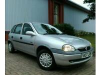 VAUXHALL CORSA 1.0 5DR 50K FULL SERVICE HISTORY IMMACULATE