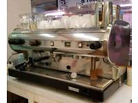 cma 3 group manual stainless steel espresso coffee machine