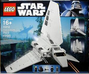 NEW LEGO STAR WARS SET 10212 IMPERIAL SHUTTLE - 2503 PIECES -