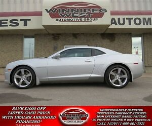 2010 Chevrolet Camaro 2SS WITH EDELBROCK E-FORCE SUPERCHARGER, 5