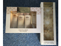 New and unopened *Mandara Spa* Honeymilk Dream Mini Luxuries and Float Away Candles