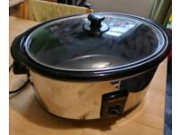 Morphy Richards 48715 6.5l Slow Cooker With 290w Power In Stainless