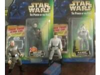 STAR WARS power of the force Imperial figures