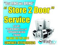 WE BRING TO YOU WASHERS COOKERS DRYERS CHEAP FROM £90