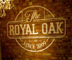 Part time Kitchen Assistant needed for the Royal Oak pub, Gloucester Road