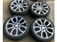 Genuine Range Rover sport alloys with budget tyres