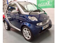 Smart Fortwo Passion Convertible Auto - Only 42k - FSH - £30 Road Tax Truly Exceptional Condition!!