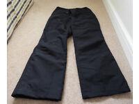 Trepass Ski Pants - Black - Size M