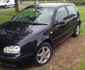 2002 Volkswagen Golf. 1.4s Petrol.