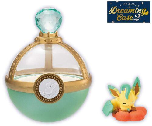 RE-MENT Pokemon Eevee & Friends Dreaming Case 2 Toy Figure Leafeon Sleeping NEW