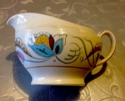 Vintage Rare Medina WoodsWare Art Deco Style Milk/Cream Jug