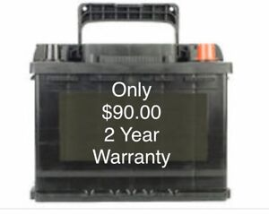 New batteries! $90.00  with 2 year warranty
