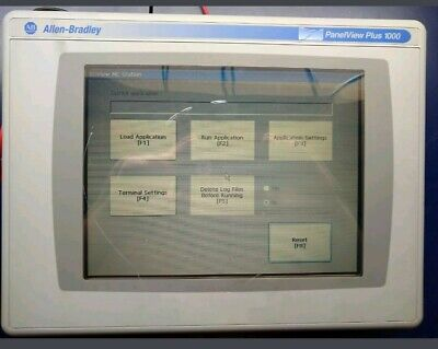 Allen Bradley Panelview Plus 1000 2711p-rdt10c 2711p-rp1 2711p-t10c4d1 A Fst