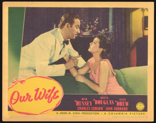 OUR WIFE (1941) Original Lobby - Ruth Hussey (A)