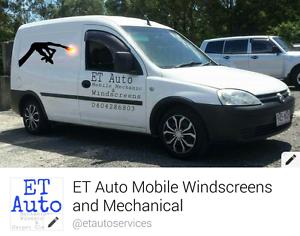 Mobile mechanic and windscreens