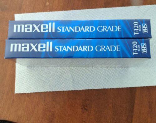Maxwell Lot Of 4 Video Cassettes 2 Standard Grade 2 Premium High Grade - $20.00