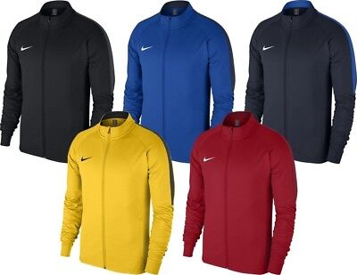 Nike Mens Dry Academy 18 Football Top Jacket Knit Tracksuit Dri-Fit Full Zip 19