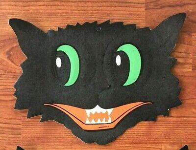 Vintage 50's/60's Halloween Cardboard