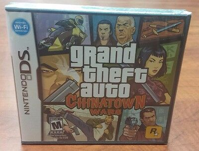 Grand Theft Auto Chinatown Wars  Nintendo Ds  3Ds  2009  Factory Sealed