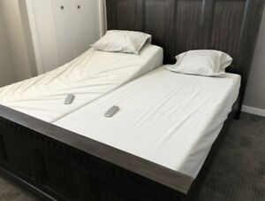 King Adjustable (SPLIT) Bed with Mattress( BRAND NEW)