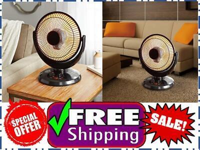 Mainstays 14'' Oscillation Dish Heater, Black Finish, JHS-80