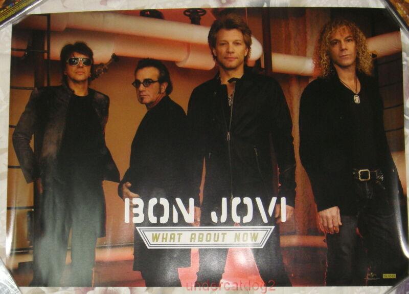 Bon Jovi WHAT ABOUT NOW 2013 Taiwan Promo Poster
