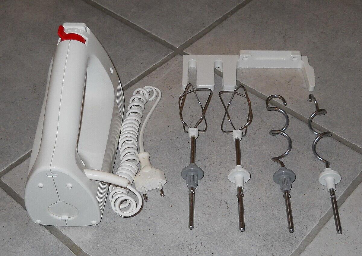 Handmixer / Handrührgerät Krups 3Mix 4004 mit Wandhalterung, Quirlen & Knethaken