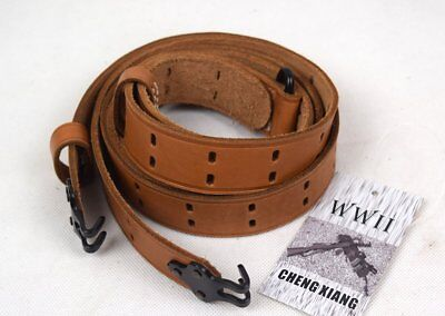 WWII US Army M1 Military Gun Strap Kit Garand Rifle M1907 GARAND Leather Sling  for sale  Shipping to Canada