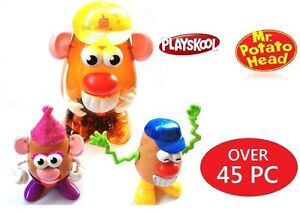 MR Potato Head Container Playskool Toy Story Large 45 Piece Set New