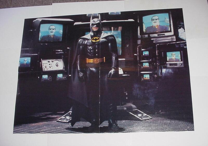 Batman Poster #19 Michael Keaton Tim Burton Movie Version
