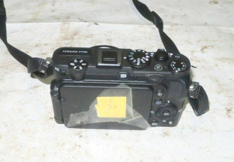 Nikon CoolPix P7700 Black Digital Camera