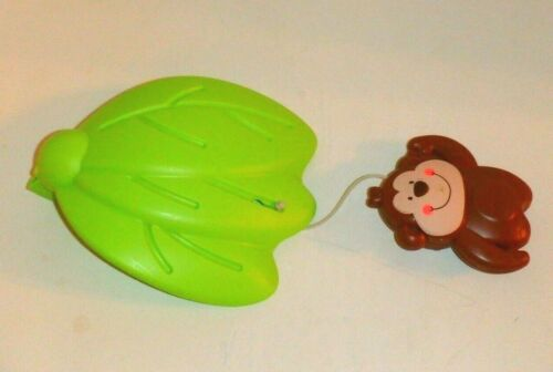 Fisher Price Luv U Zoo Jumperoo Hanging Monkey / Leaf Toy Replacement Part