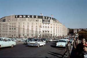 YANKEE STADIUM 8X10 PHOTO MLB PICTURE BASEBALL NEW YORK YANKEES NY 1950'S #2