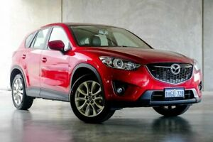 2013 Mazda CX-5 KE1031 MY13 Grand Touring SKYACTIV-Drive AWD Red/Black 6 Speed Sports Automatic Osborne Park Stirling Area Preview