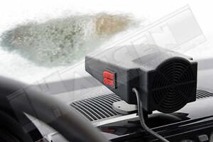 Heizlüfter 12V 300 Watt Kfz  Auto Zusatzheizung Keramikheizer Scheibenenteiser